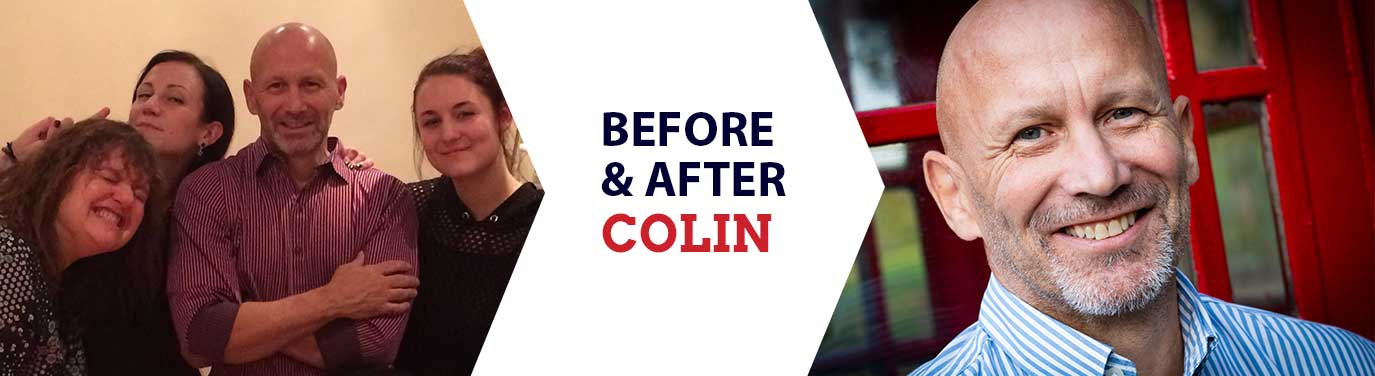 Before and After: Colin