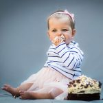 Cake Smash photo shoot for a first birthday