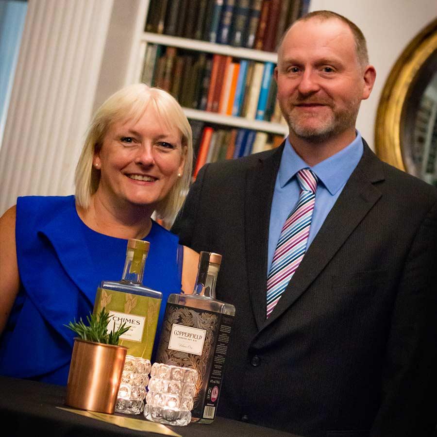 Event hosts, Katherine and Chris Smart