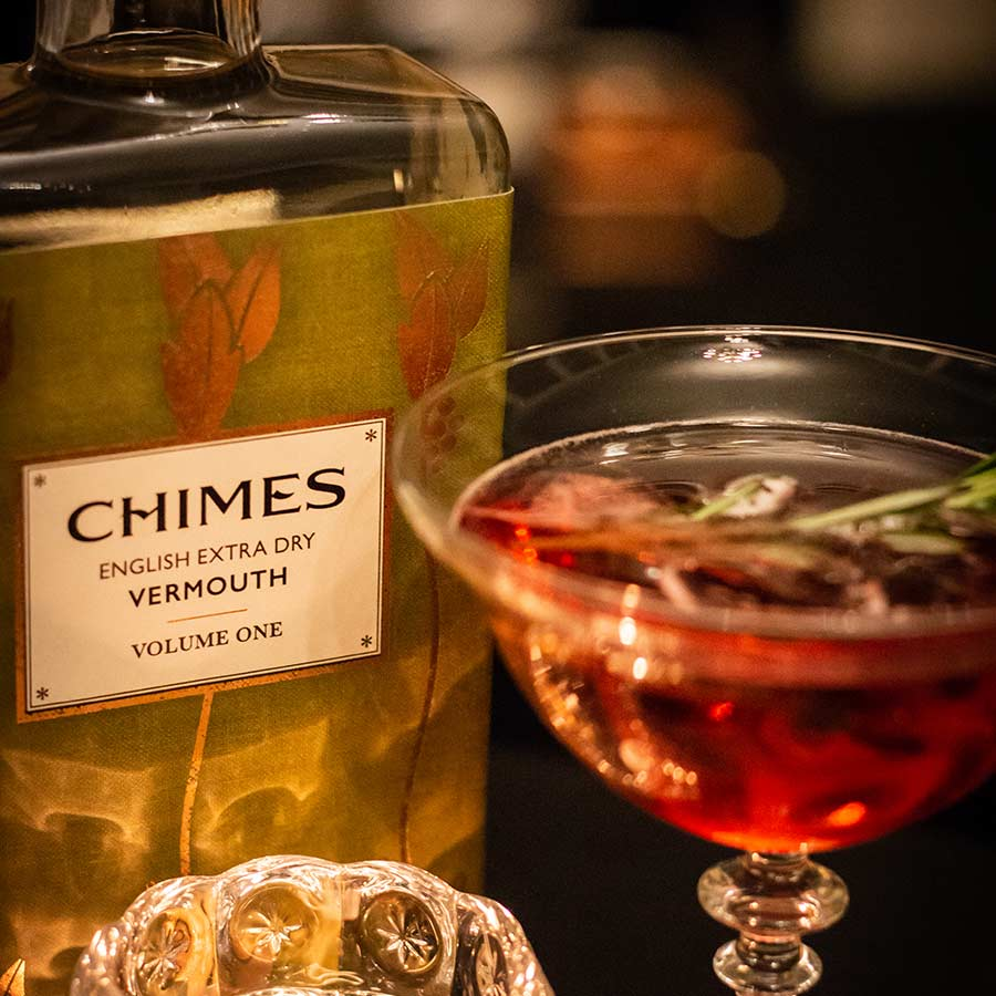 Chimes Vermouth and a cocktail